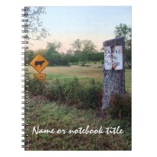 Cuaderno del personalizado del retraso