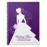 Cuaderno del planificador del boda de la novia