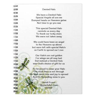 Cuaderno del poema del superviviente de la neuroci