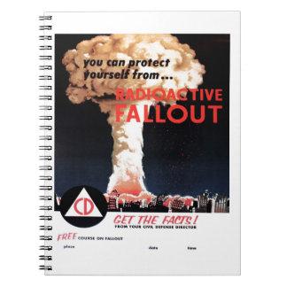 "Cuaderno del ""polvillo radiactivo radiactivo"""