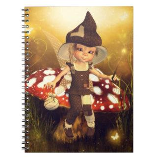 Cuaderno del polvo del duendecillo