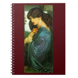 Cuaderno del Pre-Raphaelite de Proserpine