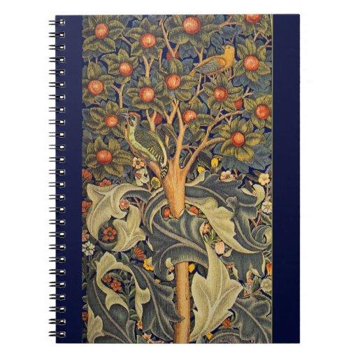 Cuaderno del Pre-Raphaelite de William Morris