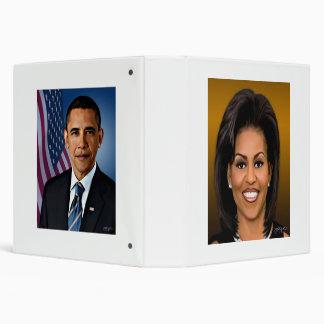 """Cuaderno del presidente y de la esposa carpeta 1 1/2"""""""