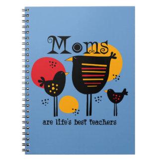 Cuaderno del profesor de la vida de la mamá el mej