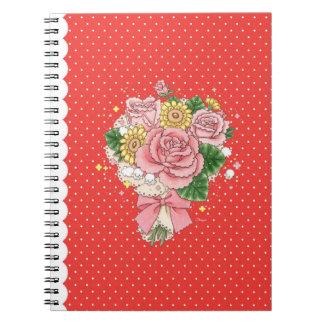 Cuaderno del ramo (rojo)