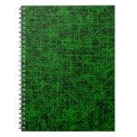 """Cuaderno del """"rasguño"""" del verde"""