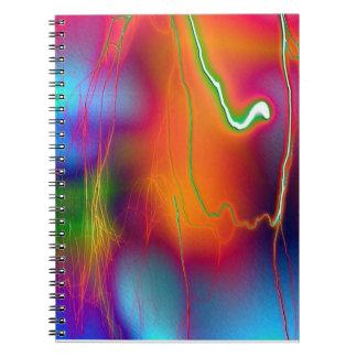 Cuaderno del relámpago del arco iris