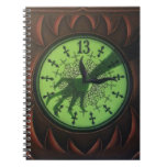 Cuaderno del reloj de 13 horas