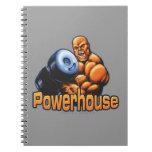 Cuaderno del rizo de la central eléctrica