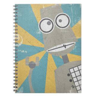 Cuaderno del robot (en gris)