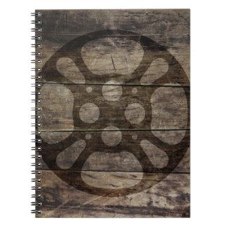 Cuaderno del rollo de película