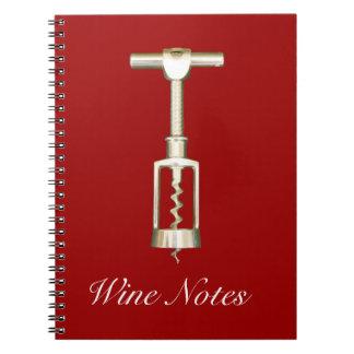 Cuaderno del sacacorchos
