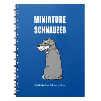 Cuaderno del Schnauzer miniatura