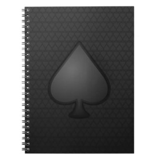 Cuaderno del símbolo de las espadas
