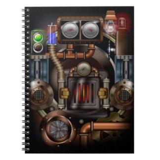 Cuaderno del sitio de caldera