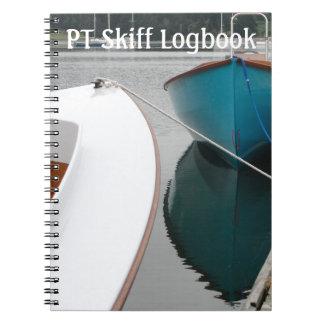 Cuaderno del SKIff de la pinta