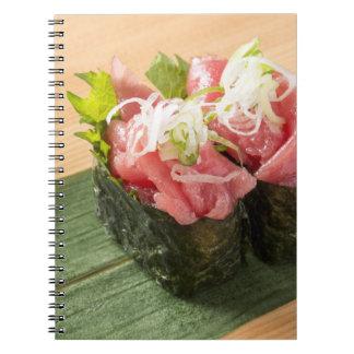 Cuaderno del sushi de Patriciapotluck