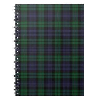 Cuaderno del tartán de Campbell del clan