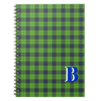Cuaderno del tartán del GB