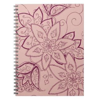 Cuaderno del tatuaje del tulipán (subió)