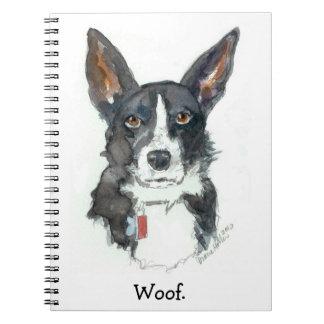 Cuaderno del TEJIDO de los pensamientos del perro