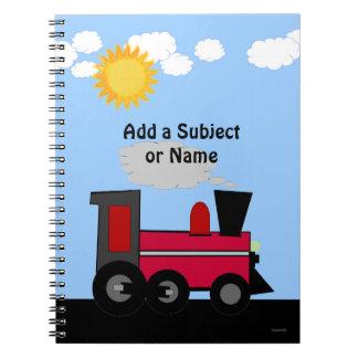 Cuaderno del tren