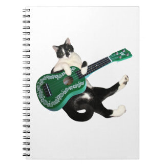 Cuaderno del Ukulele del gato