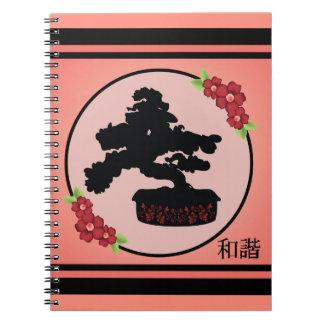 """Cuaderno del """"unísono"""" de la maceta de los bonsais"""