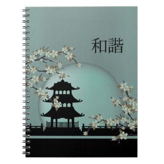 """Cuaderno del """"unísono"""" de la pagoda del negro de"""