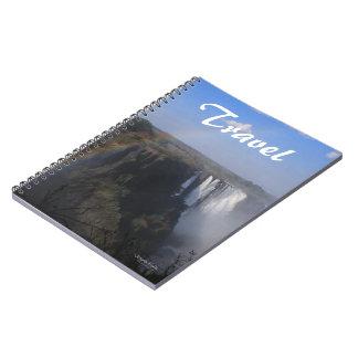 Cuaderno del viaje de las cataratas Victoria