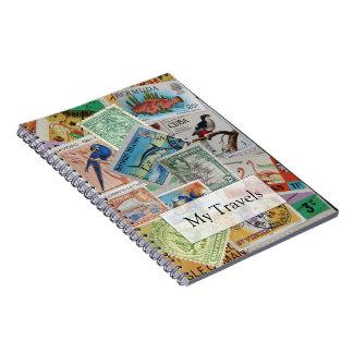 Cuaderno del viaje de los sellos de la isla del vi