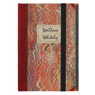 Cuaderno del vintage iPad mini cárcasa