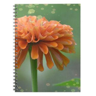 Cuaderno del Zinnia de Zazzled