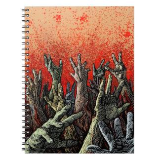 Cuaderno del zombi
