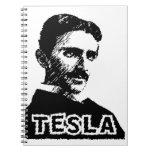 Cuaderno del zumbido de Tesla