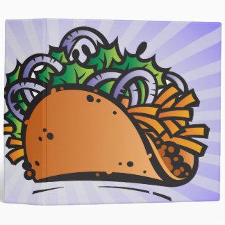 """cuaderno delicioso del taco carpeta 2"""""""