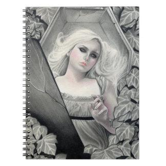 Cuaderno despertado de Vampiress