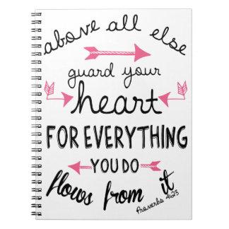 Cuaderno/diario del 4:23 de los proverbios