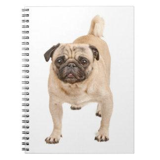 Cuaderno/diario del perro de perrito del barro libro de apuntes