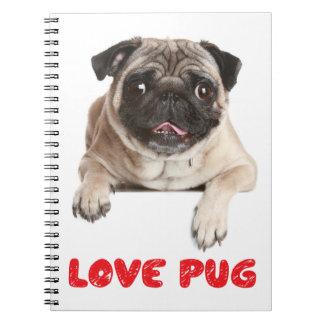 Cuaderno/diario del perro de perrito del barro notebook