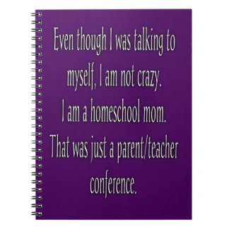 Cuaderno divertido de la mamá de Homeschool