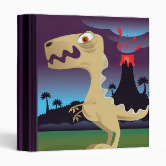 """Cuaderno divertido de T-Rex y del volcán Carpeta 1"""""""