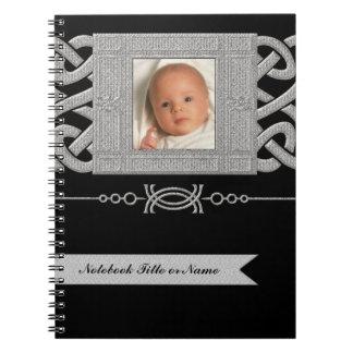 Cuaderno dulce del diario del bebé