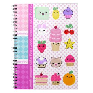 Cuaderno dulce delicioso mega de Kawaii