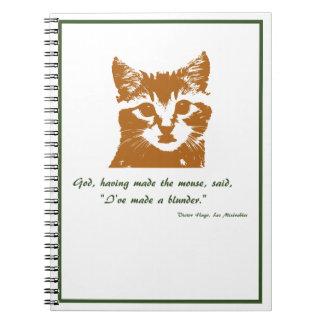 Cuaderno: El gato