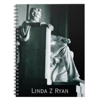 Cuaderno - el Lincoln memorial