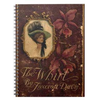 Cuaderno elegante lamentable de Bookcover del