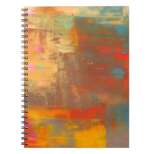 Cuaderno en colores pastel