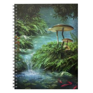 Cuaderno encantado de la charca